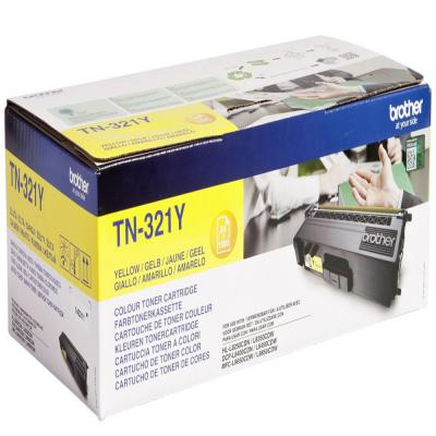 Genuine Brother TN-321Y Yellow Toner Cartridge (TN321YOEM)