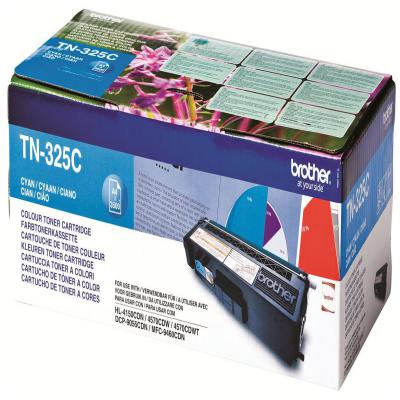 Genuine Brother TN-325C Cyan High Capacity Toner Cartridge (TN325COEM)