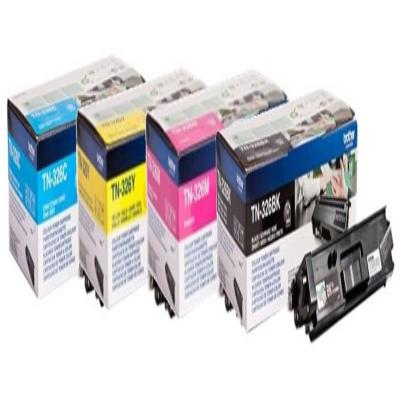 Genuine Brother TN-326 BK/C/M/Y Mulit Pack High Capacity Toner Cartridge (TN326BKCMYMULTIOEM)