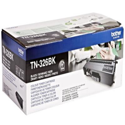 Genuine Brother TN-326BK Black High Capacity Toner Cartridge (TN326BKOEM)