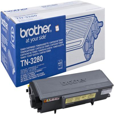 Genuine Brother TN-3280 Black High Capacity Toner Cartridge (TN3280BKOEM)