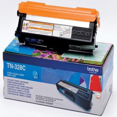Genuine Brother TN-328C Cyan High Capacity Toner Cartridge (TN328COEM)