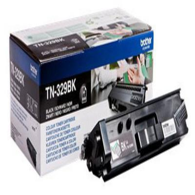Genuine Brother TN329BK Black High Capacity Toner Cartridge (TN329BKOEM)