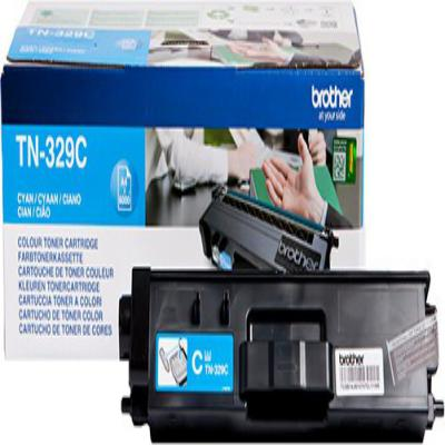 Genuine Brother TN-329C Cyan Extra High Capacity Toner Cartridge (TN329COEM)