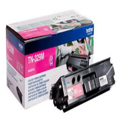 Genuine Brother TN-329M Magenta Extra Capacity Toner Cartridge (TN329MOEM)