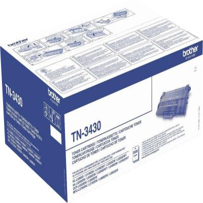 Genuine Brother TN-3430 Black Toner Cartridge (TN3430BKOEM)