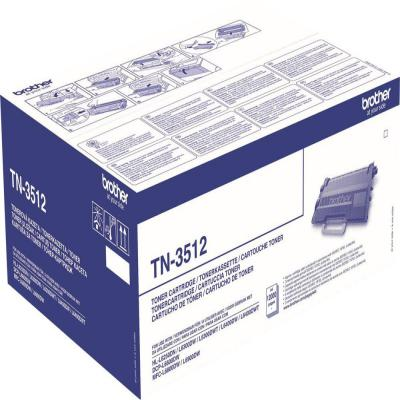 Genuine Brother TN-3512 Black Super Capacity Toner Cartridge (TN3512BKOEM)