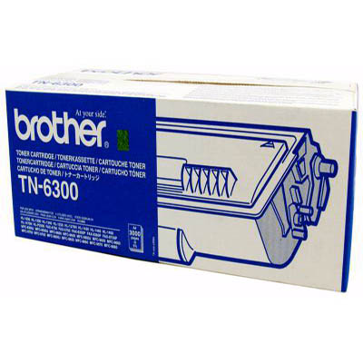 Genuine Brother TN-6300 Black Toner Cartridge (TN6300BKOEM)