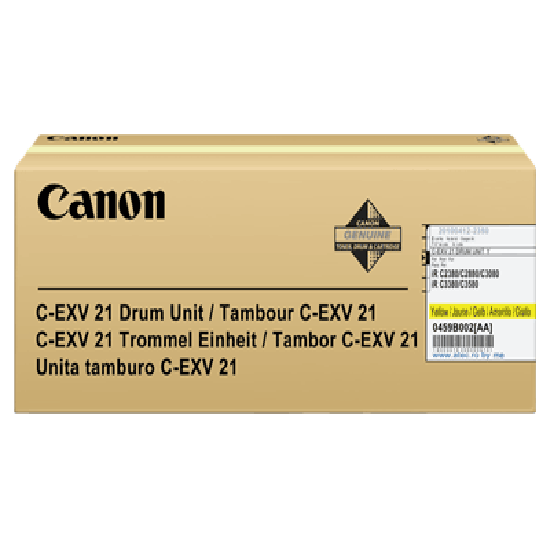 Genuine Canon C-EXV21Y Yellow Drum Unit (0459B002BA)