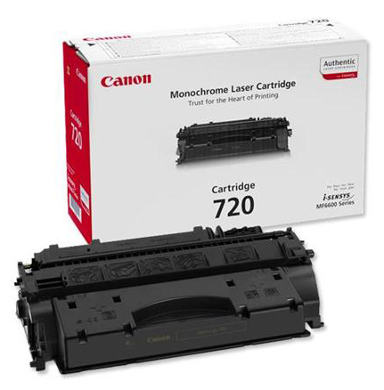 Genuine Canon 720 Black Toner Cartridge (2617B002)