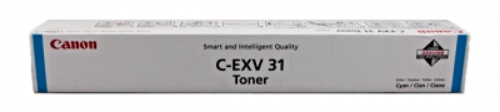 Genuine Canon C-EXV31C Cyan Toner Cartridge (2796B002)