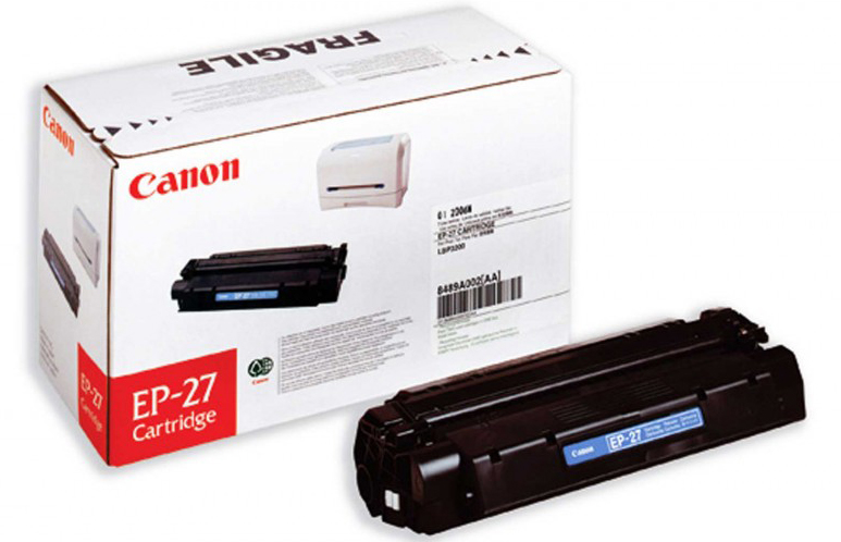 Genuine Canon EP27 Black Toner Cartridge (EP27BKOEM)