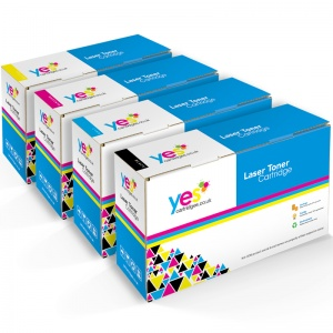 Compatible HP CE270-3 (#650A) BK/C/M/Y Multipack of Toner Cartridges (HP650ABKCMYMULTICOM)