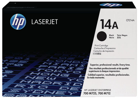 Genuine HP CF214A (#14A) Black Toner Cartridge (HPCF214ABKOEM)