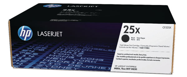 Genuine HP CF325X (#25X) Black Toner Cartridge (HPCF325XBKOEM)