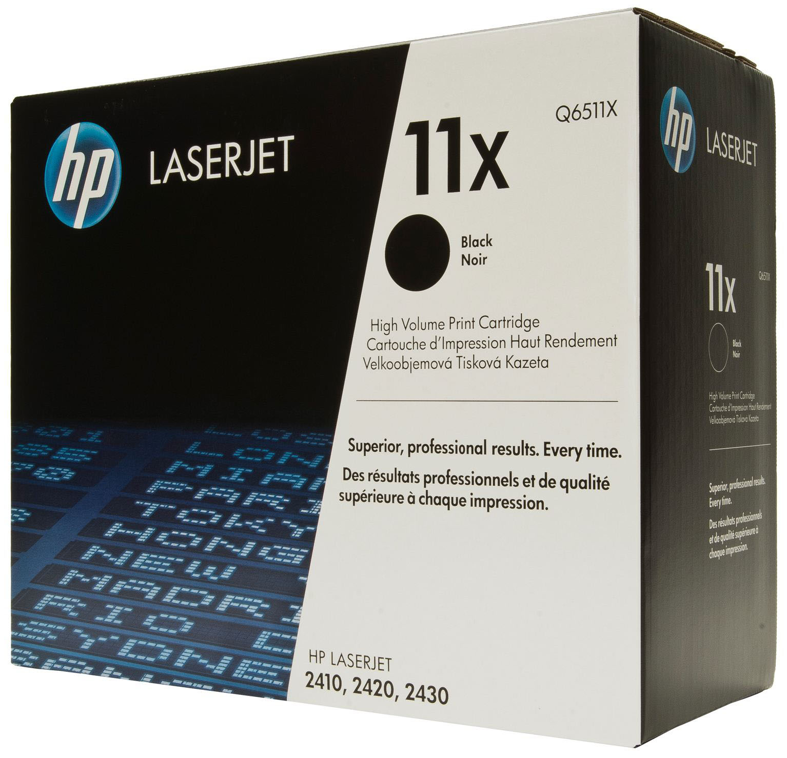 Genuine HP Q6511X (#11X) Black High Capacity Toner Cartridge (HPQ6511XBKOEM)
