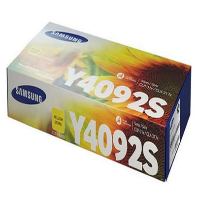 Genuine Samsung CLT-Y4092S Yellow Toner Cartridge (SAMCLT-Y4092SYOEM)