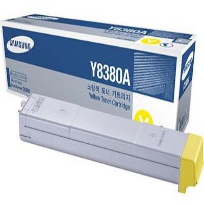 Genuine Samsung CLX-Y8380A Yellow Toner Cartridge (SAMCLX-Y8380AYOEM)