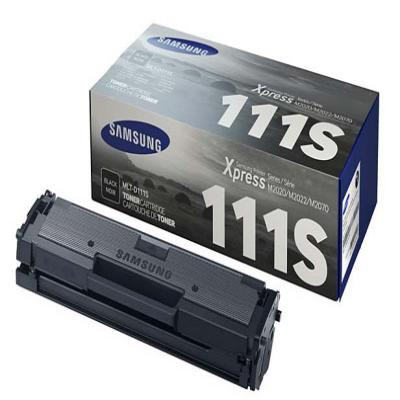 Genuine Samsung MLT-D111S Black Toner Cartridge (SAMMLT-D111SBKOEM)