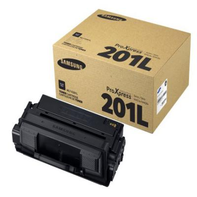 Genuine Samsung MLT-D201L Black Toner Cartridge (MLT-D201LOEM)
