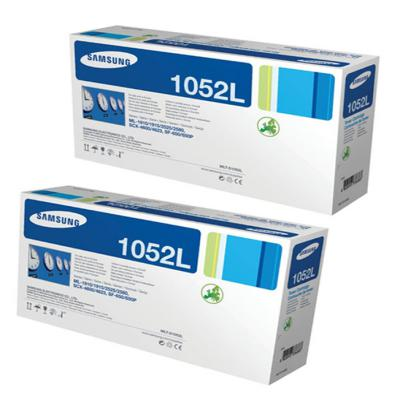 Genuine Samsung MLT-D1052L Twin Pack High Capacity Toner Cartridge (SAMMLTD1052LBKOEM)