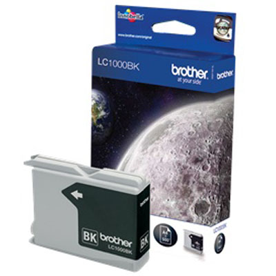 Genuine Brother LC1000 Black Ink Cartridge (LC-1000BKOEM)