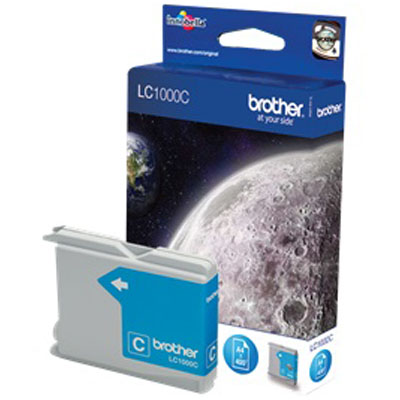 Genuine Brother LC1000 Cyan Ink Cartridge (LC-1000COEM)