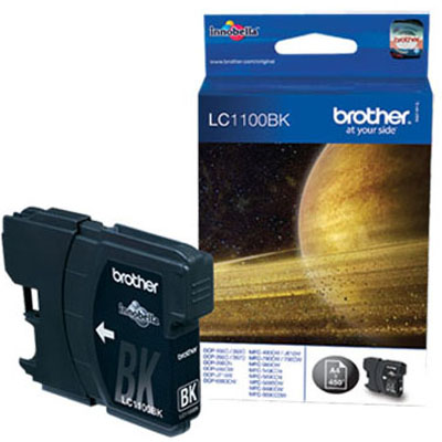 Genuine Brother LC1100 Black Ink Cartridge (LC-1100BKOEM)