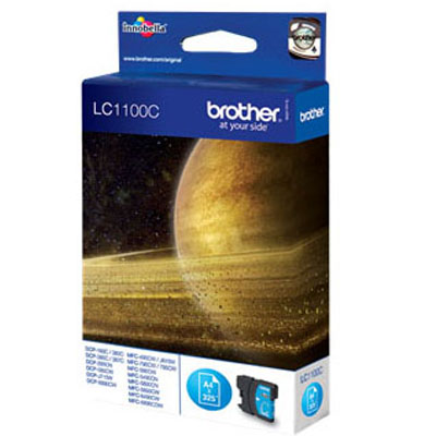 Genuine Brother LC1100 Cyan Ink Cartridge (LC-1100COEM)