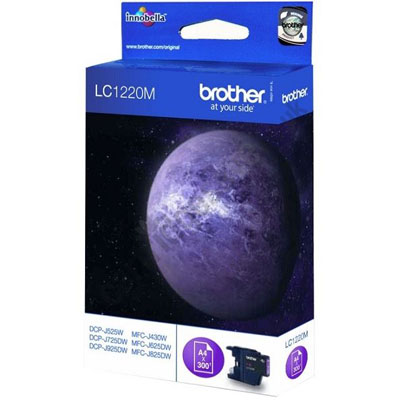 Genuine Brother LC1220BM Magenta Ink Cartridge (LC-1220MOEM)
