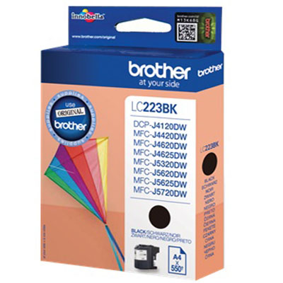 Genuine Brother LC223 Black Ink Cartridge (LC-223BKOEM)