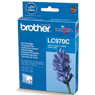 Genuine Brother LC970 Cyan Ink Cartridge (LC-970COEM)