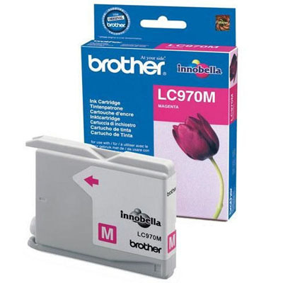 Genuine Brother LC970 Magenta Ink Cartridge (LC-970MOEM)