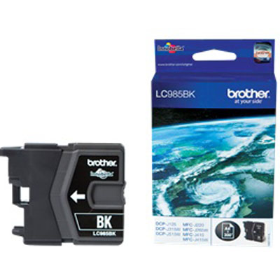 Genuine Brother LC985BK Black Ink Cartridge (LC-985BKOEM)