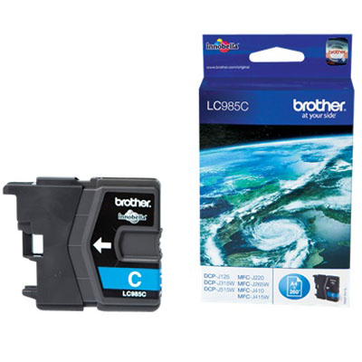 Genuine Brother LC985C Cyan Ink Cartridge (LC-985COEM)