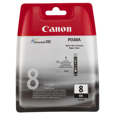 Genuine Canon CLI-8 Photo Black Ink Cartridge (CLI8PBKOEM)
