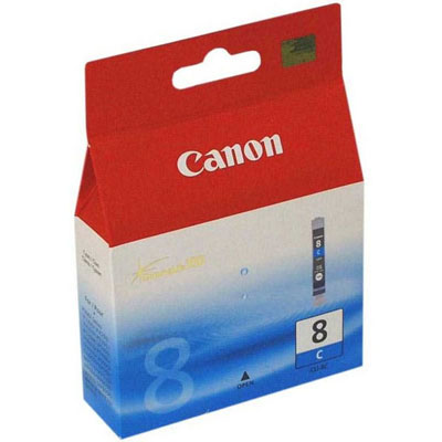 Genuine Canon CLI-8 Cyan Ink Cartridge (CLI8COEM)