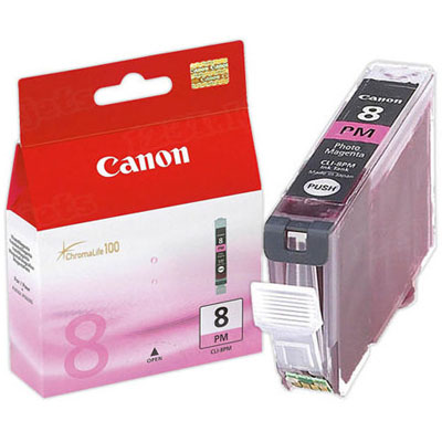 Genuine Canon CLI-8 Photo Magenta Ink Cartridge (CLI8PMOEM)