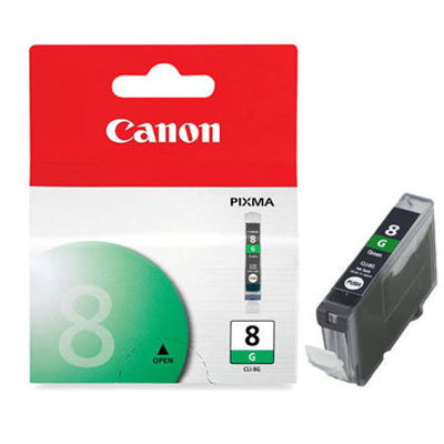 Genuine Canon CLI-8 Green Ink Cartridge (CLI8GOEM)