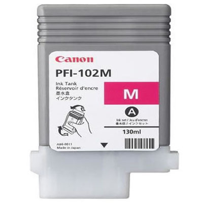 Genuine Canon PFI-102 Magenta Ink Cartridge (PFI102MOEM)