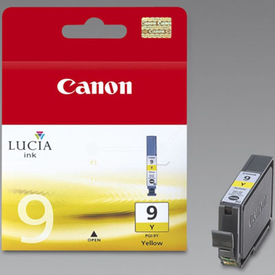 Genuine Canon PGI-9 Yellow Ink Cartridge (PGI9YOEM)