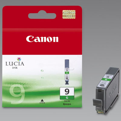 Genuine Canon PGI-9 Green Ink Cartridge (PGI9GOEM)