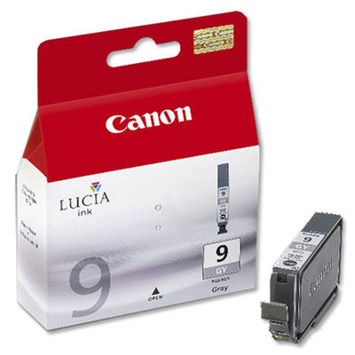 Genuine Canon PGI-9 Grey Ink Cartridge (PGI9GYOEM)