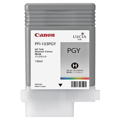 Genuine Canon PFI-103 Grey Ink Cartridge (PFI103GYOEM)