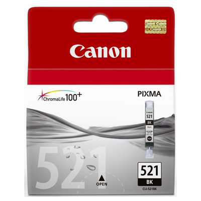 Genuine Canon CLI-521 Photo Black Ink Cartridge (CLI521PBKOEM)