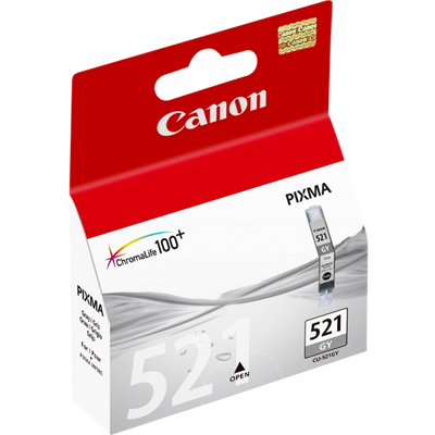 Genuine Canon CLI-521 Grey Ink Cartridge (CLI521GYOEM)
