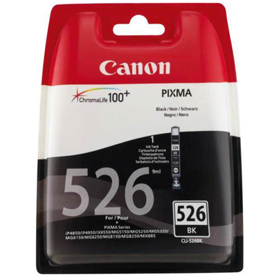 Genuine Canon CLI-526 Photo Black Ink Cartridge (CLI526PBKOEM)