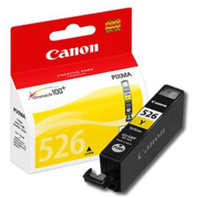Genuine Canon CLI-526 Yellow Ink Cartridge (CLI526YOEM)