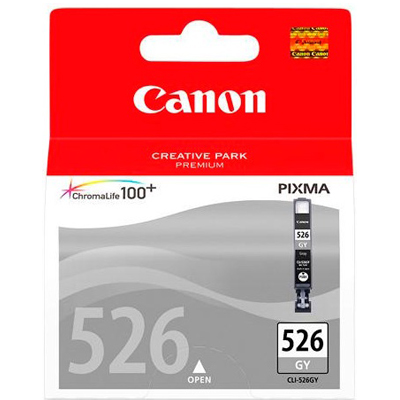 Genuine Canon CLI-526 Grey Ink Cartridge (CLI526GYOEM)