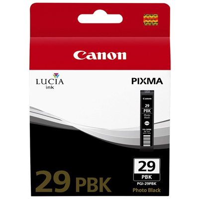 Genuine Canon PGI-29 Photo Black Ink Cartridge (PGI29PBKOEM)
